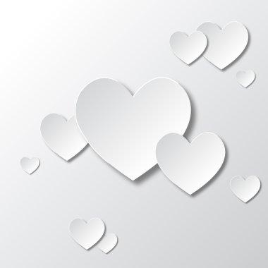 Paper White Hearts