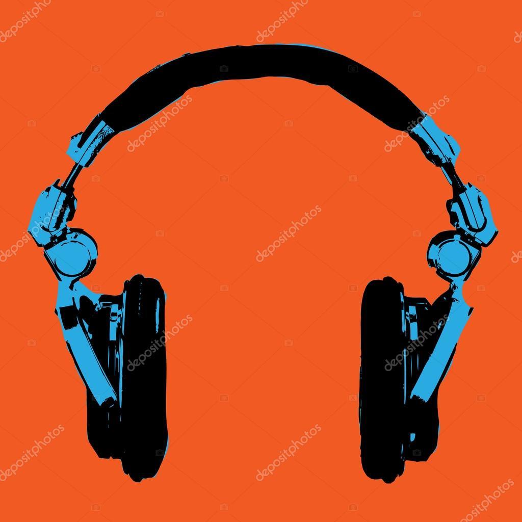 Kopfhörer-Pop-Art-Vektor — Stockvektor © PstockOwn43 #71802145