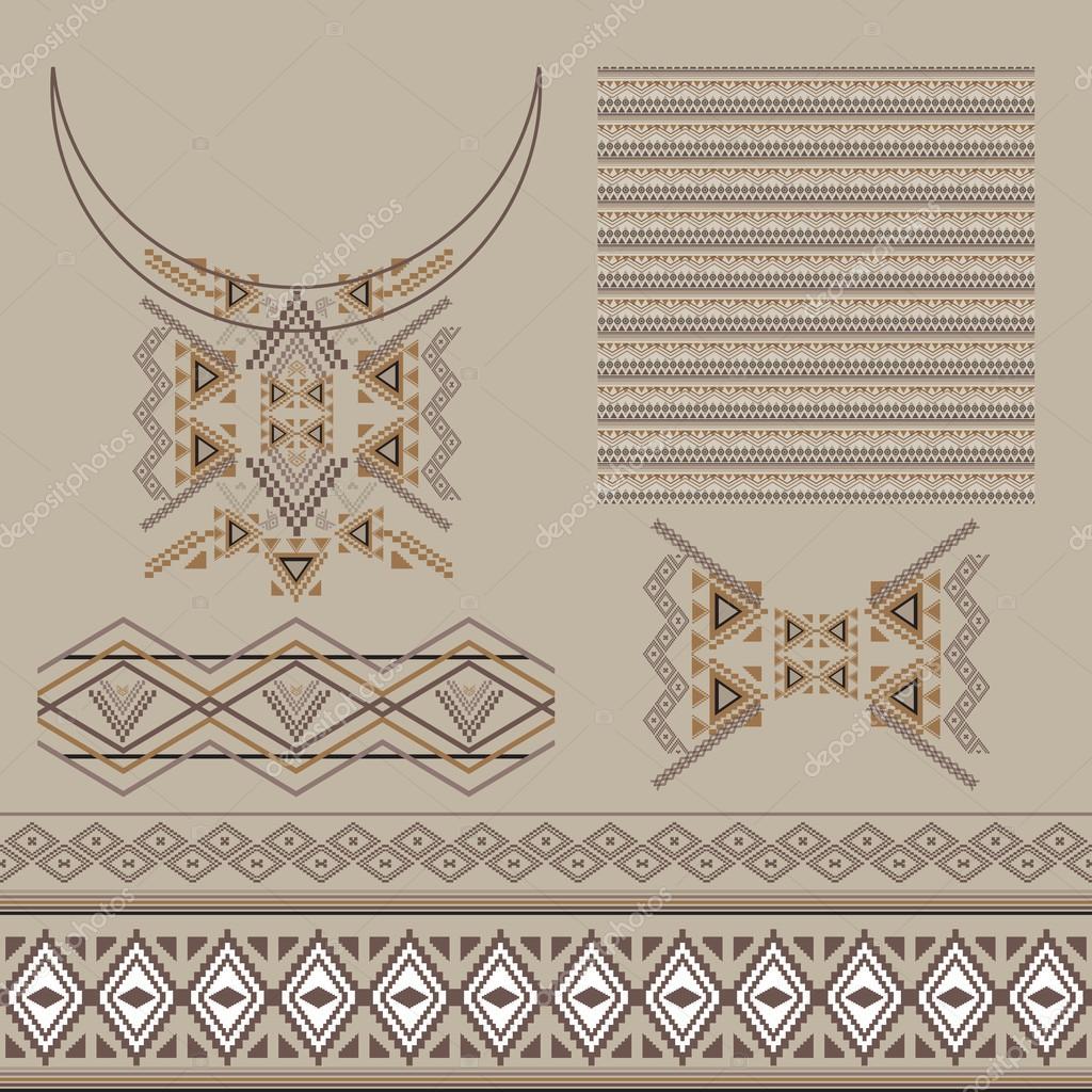 Vector conjunto de elementos decorativos de diseño y moda en estilo ...