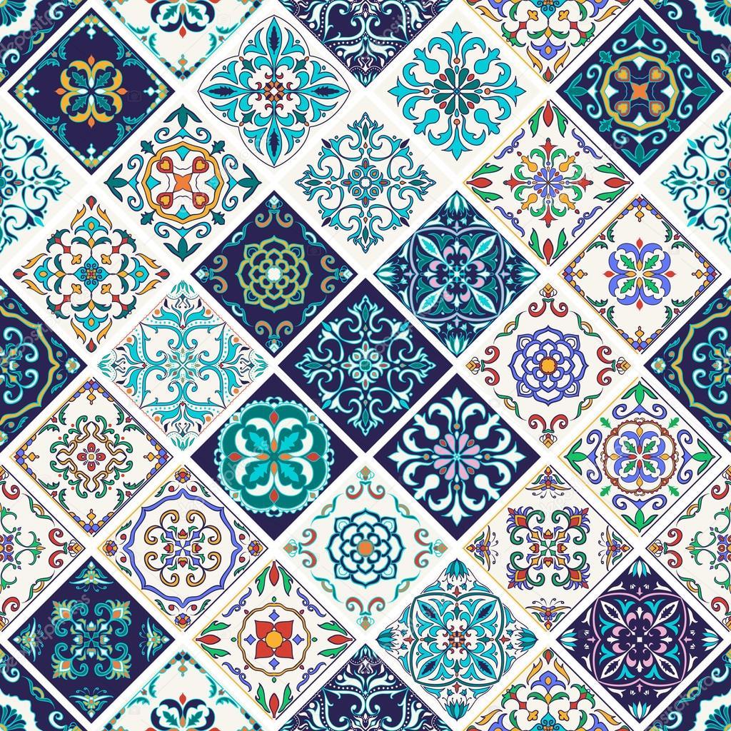 Textura transparente de vector patr n de mosaico hermoso de dise o y moda con elementos Diseno y textura