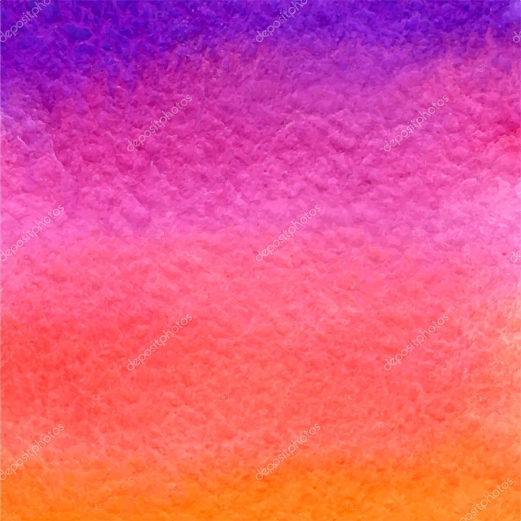 Sfondo Con Sfumatura Viola Rosa E Arancia Dellacquerello