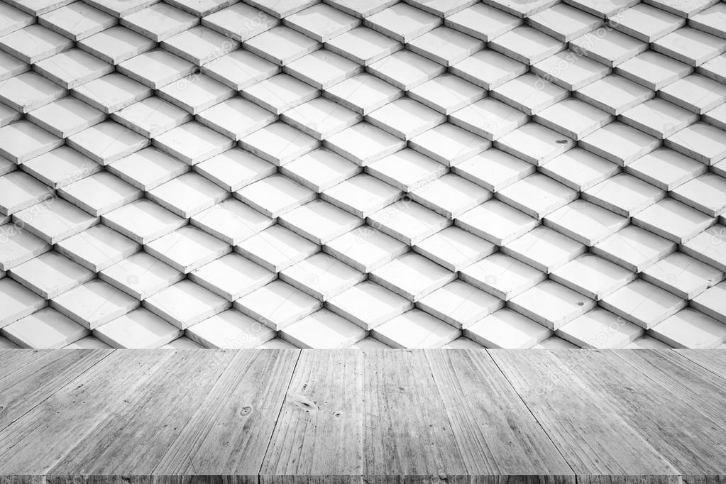 나무 테라스 타일 지붕 텍스처 표면 — 스톡 사진 © PongMoji #100707174