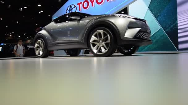 Toyota car in show event
