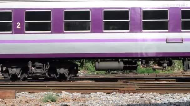Thajské železniční vlak