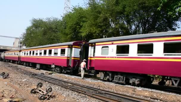 Lokomotivou přepínání železnice