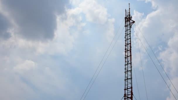 Anténa mobilní věže, Timelapse
