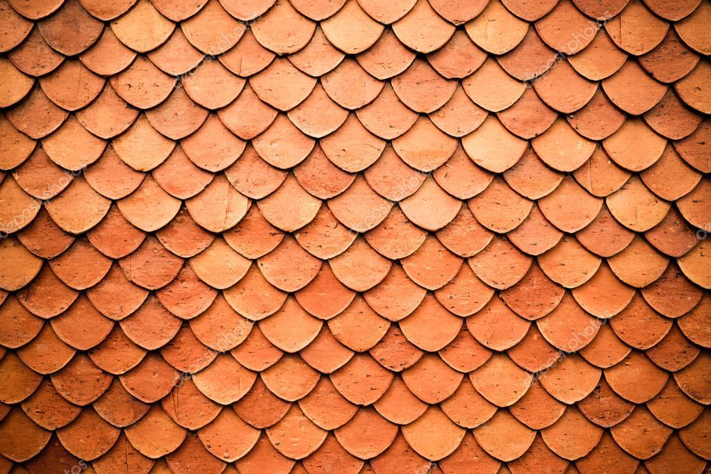 Piastrelle di stile dell annata di struttura del tetto u foto