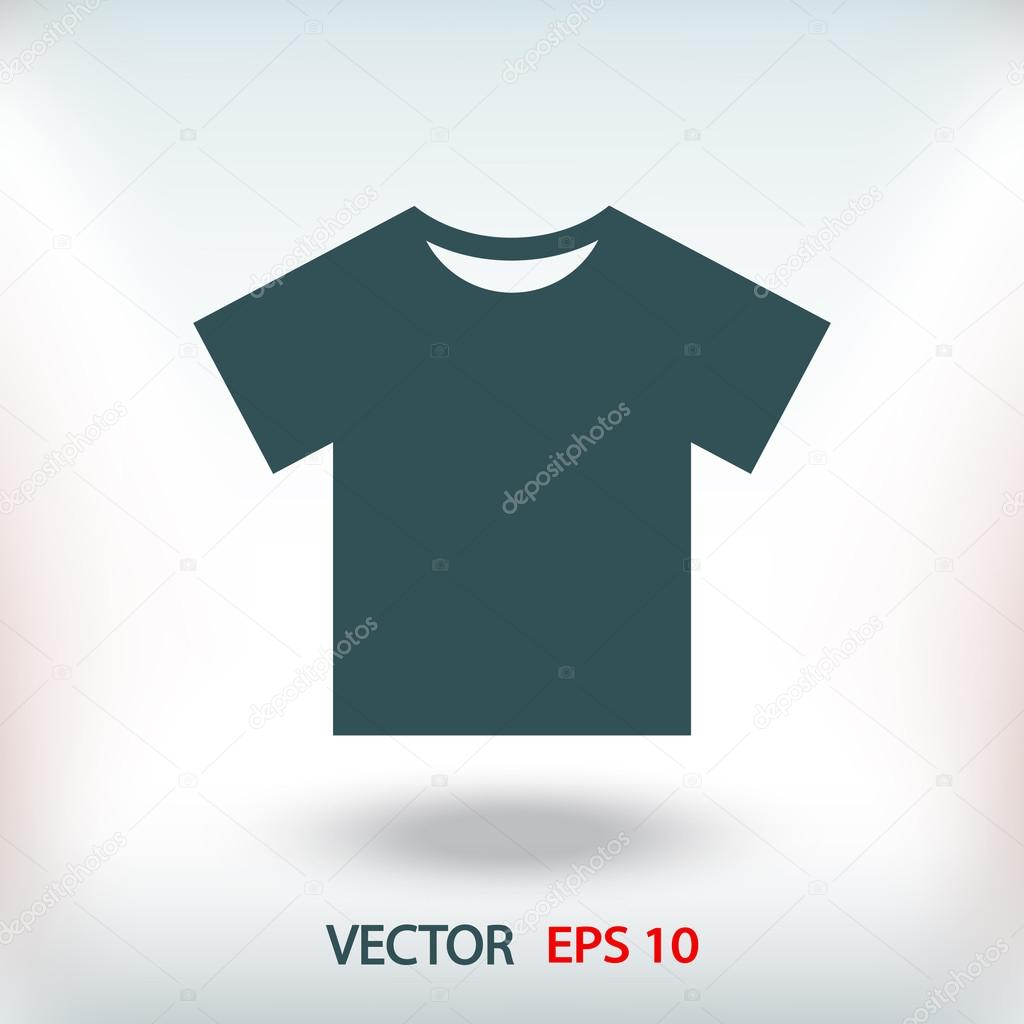 t shirt flat design icon stock vector c best3d 106265700 https depositphotos com 106265700 stock illustration t shirt flat design icon html