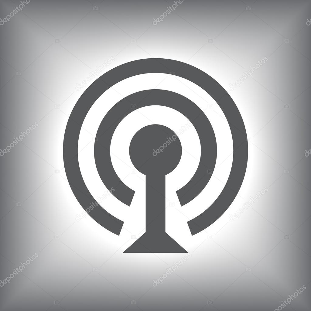 Wireless Network Symbol Of Wifi Icon Stock Vector Best3d 53201163
