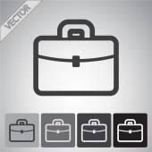 Aktovka ikony designu