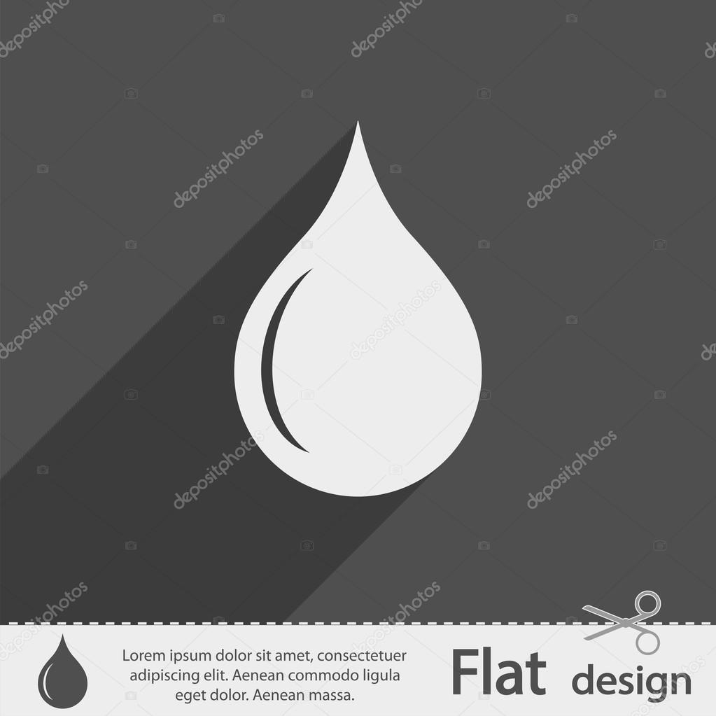 Drop icon design