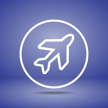 Airplane symbols icon