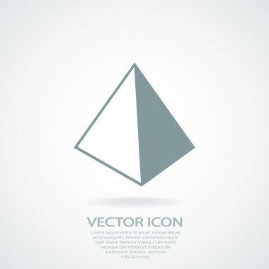 Pyramid icon design