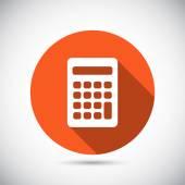 Fotografie Calculator icon Flat design