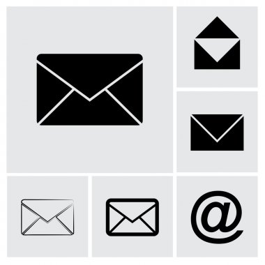 Envelope Mail icon set