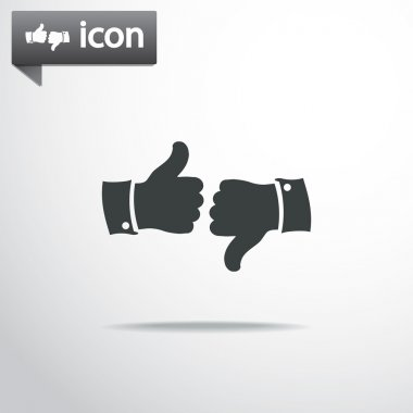 Like Dislike icons set