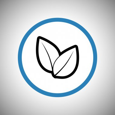 Tree leaves icon