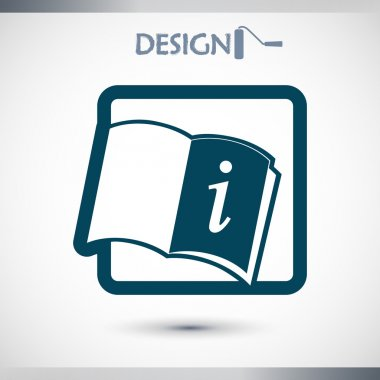Opened book icon
