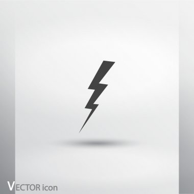Lightning icon design