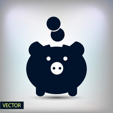 Moneybox icon design