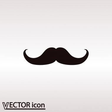 Mustache flat icon