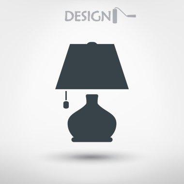 Lamp icon design