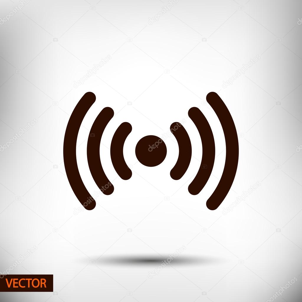Wireless Network Symbol Of Wifi Icon Stock Vector Best3d 60388669