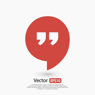 Dialog Speech bubble icon