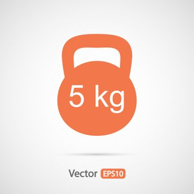 Dumbbell icon design