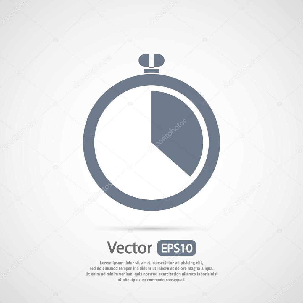 Stopwatch icon design