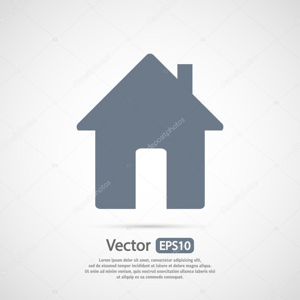 집 아이콘 디자인 — 스톡 벡터 © Best3d #80753932
