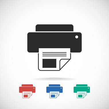 Printer icon design