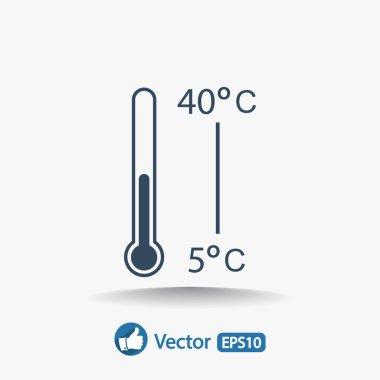 Thermometer icon design