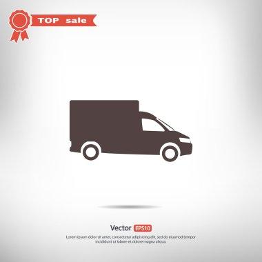 Truck flat icon