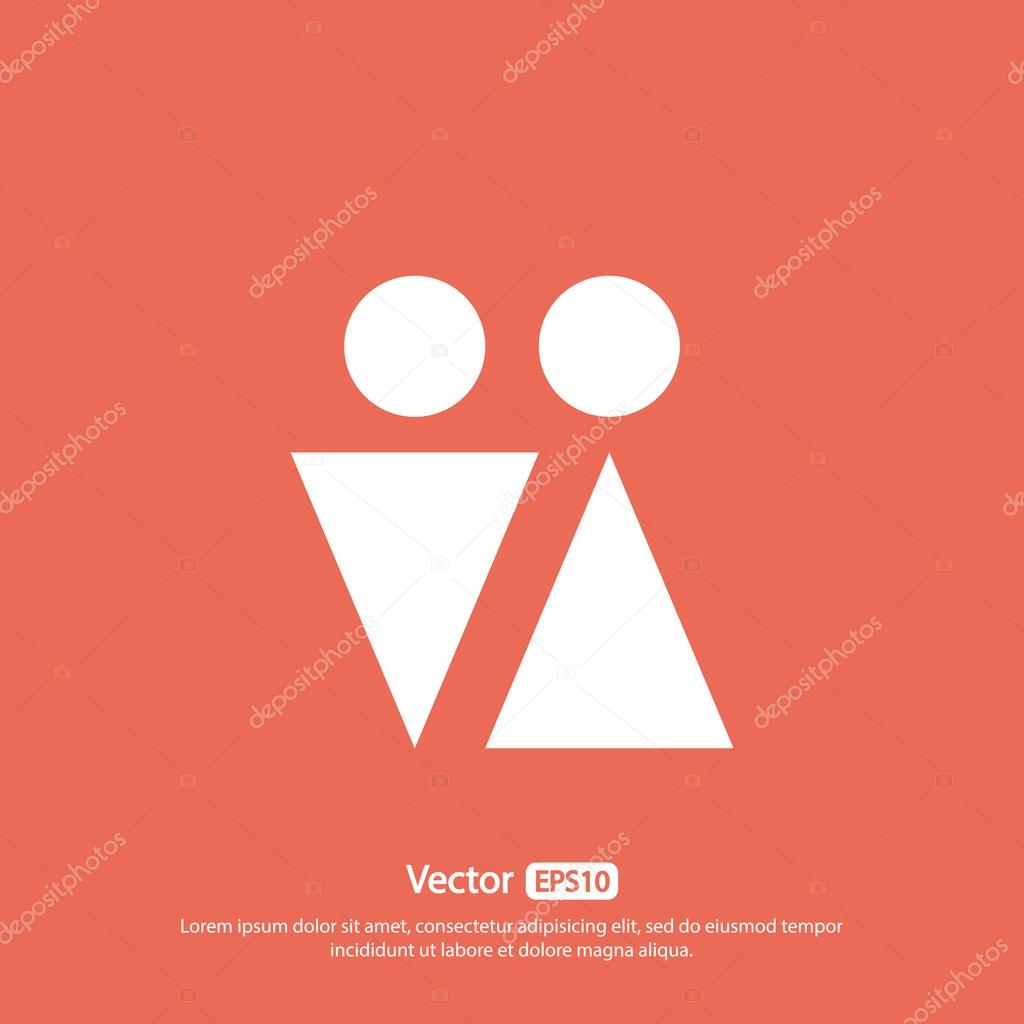 Male and female symbols icon stock vector best3d 85733638 male and female symbols icon stock vector 85733638 buycottarizona