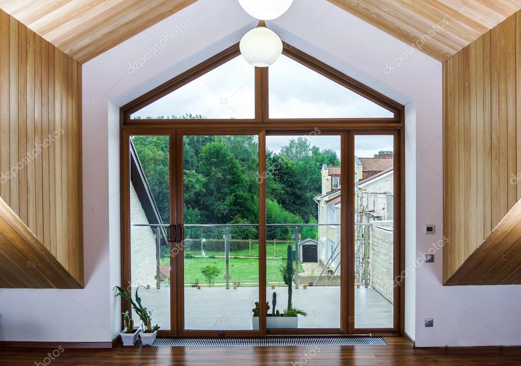 Neue Gfk-schiebetüren Für Terrasse ? Stockfoto © Sorokopud #54759241 Schiebeturen Fur Die Terrasse