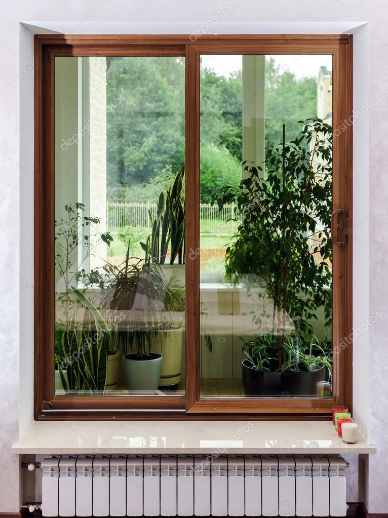 Neue Gfk-schiebetüren Für Terrasse ? Stockfoto © Sorokopud #54759285 Schiebeturen Fur Die Terrasse