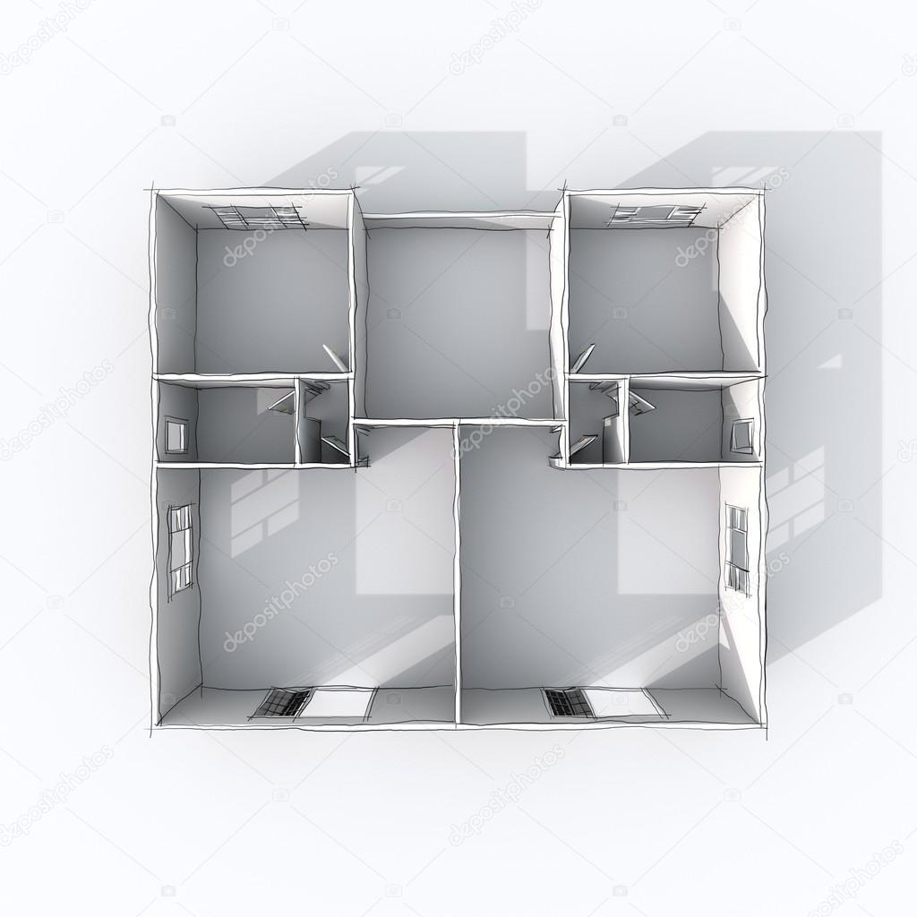 Dessiner Plan 3d Gallery Of Dessin Plan D Banque Duimages