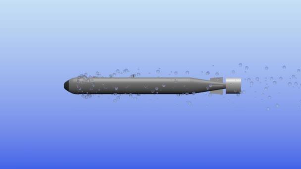 3D footage of torpedo