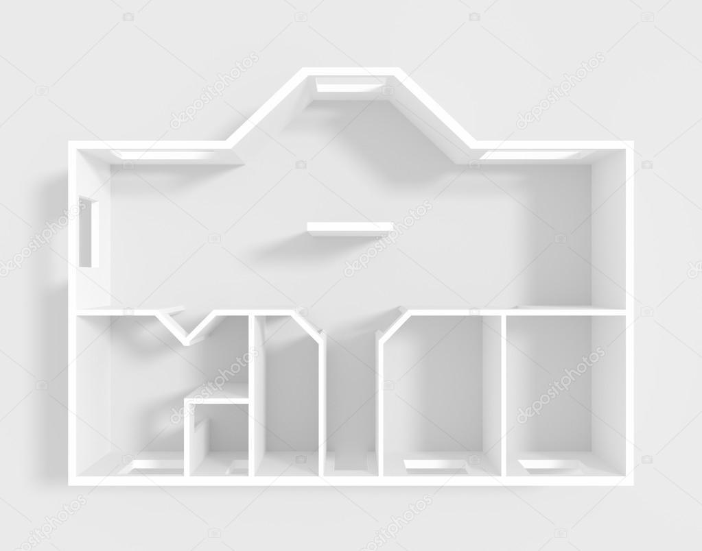 Leere Wohnung 1 — Stockfoto © AlessandroMassimiliano #83577922