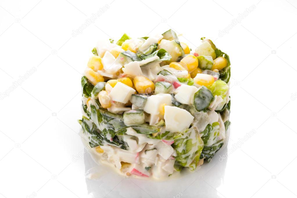 Cucina creativa insalata fresca foto stock for Cucina creativa