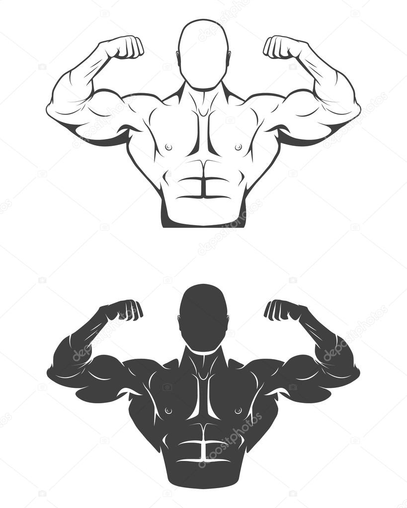 Áˆ How To Draw A Muscle Arm Emoji Stock Vectors Royalty Free Arm Flex Illustrations Download On Depositphotos