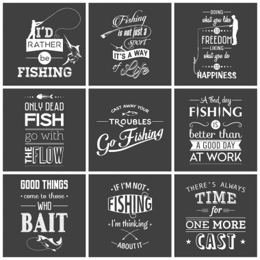 Download Fishing Quotes Free Vector Eps Cdr Ai Svg Vector Illustration Graphic Art