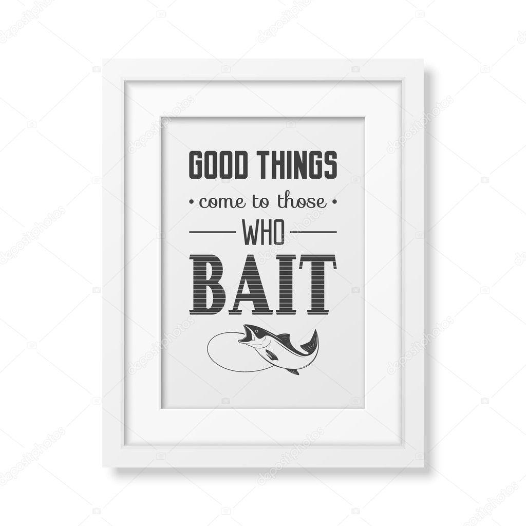 Zitat von typografische Hintergrund in den weißen Rahmen ...