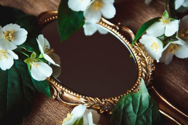 Beautiful a vintage mirror