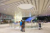 Kao-siung - Tchaj-wan 13 listopadu 2014: otevření nové knihovny v Kaohsiungu