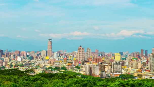 the city in Kaohsiung - Taiwan - Time Lapse