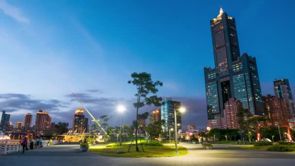 the city of Kaohsiung - Taiwan - Time Lapse