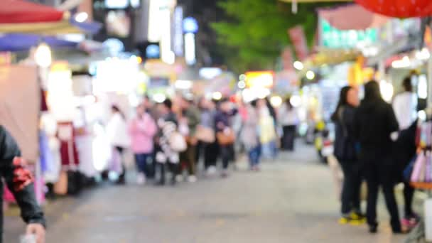 People walking in city  background