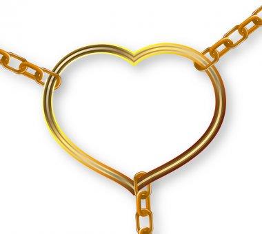 chain heart breaks